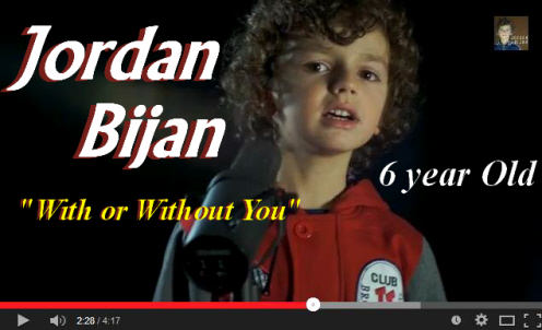 Jordan Bijan 6 year old