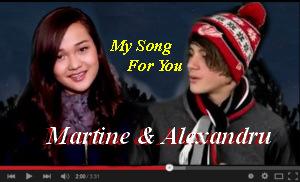 Martine and Alexandru