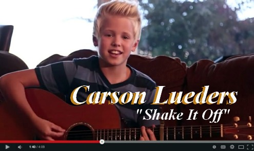 Carson Lueders Shake It Off