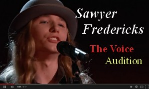 Swyer Fredericks The Voice Audition