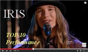 Sawyer Fredericks Top-10-Iris