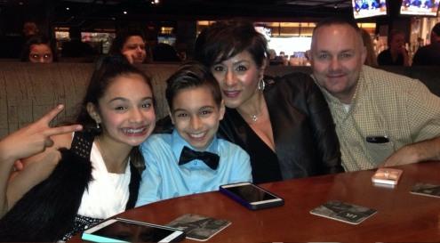 Gavin and Family