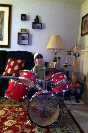 Alex New Drum Set