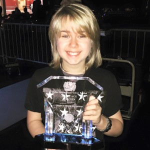 Griffin Tucker Wins Award and Gig